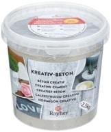 Kreativ Beton Rayher - 2,5 kg Eimer-Kreativbeton