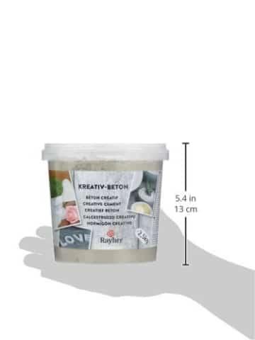 Kreativ Beton Rayher - 2,5 kg Eimer-Kreativbeton-DIY