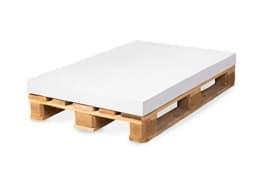 Matratzenkissen (120x80x8cm) - mit oder ohne Bezug wählbar- Farben wählbar - guter Sitzkomfort