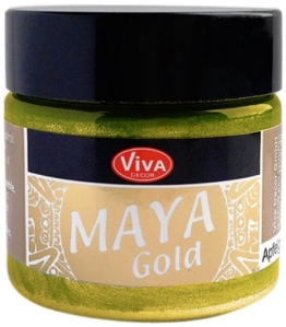 Maya Farben - Gold 50 ml-Bastelideen