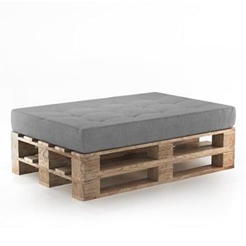 Palettenpolster Set - Kissen - Polster - Lehne - Sitz- Seitenkissen zusammstellbar -4