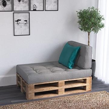 Palettenpolster Set - Kissen - Polster - Lehne - Sitz- Seitenkissen zusammstellbar -6