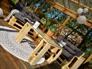 Palettenmöbel Terrasse selber bauen (4)