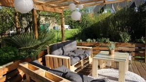 Palettenmöbel Terrasse selber bauen (6)
