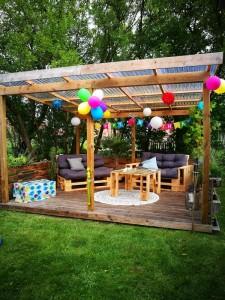 Palettenmöbel Terrasse selber bauen (8)