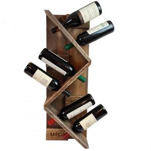Weinregal aus Paletten-Regal aus Europaletten (4)