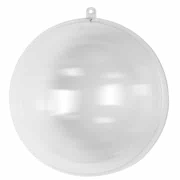 RAYHER - Plastik-Kugel - 2-teilig, 20 cm Durchmesser, kristall - Kreativ Beton