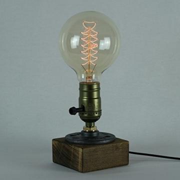 Vintage Glühbirne - 60W - Retro - Industriell Stil Deko Glühbirne Globe 95mm-2