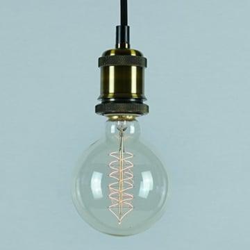 Vintage Glühbirne - 60W - Retro - Industriell Stil Deko Glühbirne Globe 95mm-4